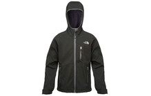 The North Face Boy's Softshell Jacket tnf black/graphite grey